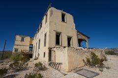 Logement abandonné dans le Texas Images libres de droits