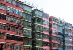 Logement asiatique serré et vieux Image libre de droits