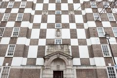 Logement conçu par Edwin Lutyens photos stock
