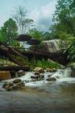 Logement de cascade Photo libre de droits