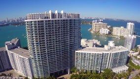 Logement de Miami Beach banque de vidéos