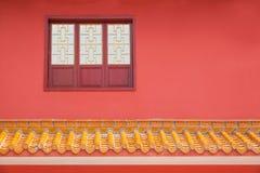 Logement de temple de Jinyu Guanyin de moines de Sanya Nanshan Buddhist Images libres de droits