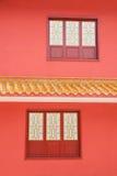 Logement de temple de Jinyu Guanyin de moines de Sanya Nanshan Buddhist Photographie stock