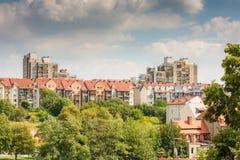 Logement du bloc en Pologne photographie stock