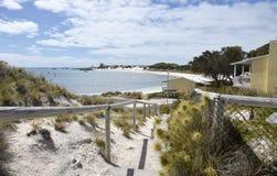 Logement du front de mer à l'île de Rottnest Image libre de droits