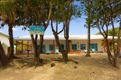 Logement du front de mer dans les îles au vent Image libre de droits