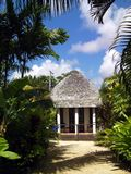 Logement tropical de ressource Image stock