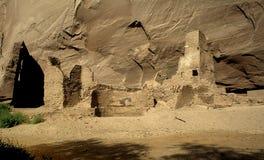 Logements de falaise d'Anasazi Photos libres de droits