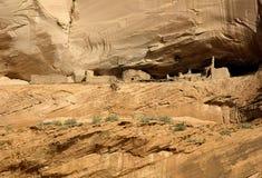 Logements de falaise d'Anasazi Images libres de droits