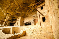 Logements de falaise en Mesa Verde National Parks, Co, Etats-Unis Images stock