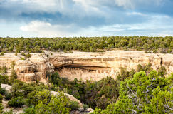 Logements de falaise en Mesa Verde National Parks, Co, Etats-Unis Images libres de droits