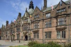 Logements sociaux de Coventry images libres de droits