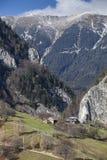 Loges de montagne photographie stock libre de droits