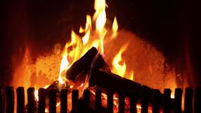 Logfire na chaminé
