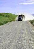 loggad lastbil Arkivfoton