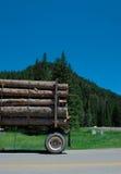 loggad lastbil arkivfoto