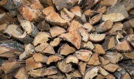 Logged Oak Wood Royalty Free Stock Images