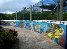 Loggerhead Marinelife Center. The loggerhead Marinelife Center is a non-profit organization in Juno Beach, Florida and features aquariums, exhibits and an on stock photo