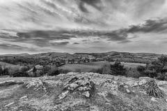 Loggerheads het Park van het Noord- land Wales Royalty-vrije Stock Foto