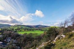 Loggerheads het Park van het Noord- land Wales Royalty-vrije Stock Afbeeldingen