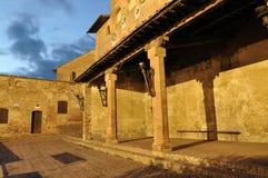 Loggetta del Vicariato (Certaldo) Stock Photography