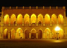 Loggia Amulea palace padova Royalty Free Stock Images