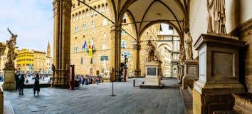 Loggia dei Lanzi in Florence, Italy Stock Image