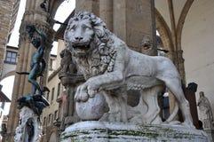Loggia dei Lanzi in Florence royalty free stock photos