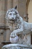 Loggia dei Lanzi Loggia della Signoria, Florence Stock Image