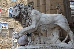 Loggia dei Lanzi Loggia della Signoria, Florence Royalty Free Stock Photo