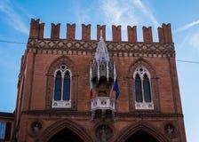 Loggia dei Mercanti in Bologna, Italy Stock Photo