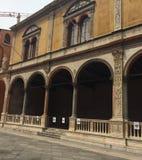 Loggia Del Consiglio w Verona Obrazy Stock