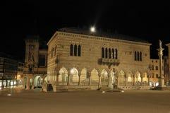 Loggia Del Lionello Udine Stockfotos