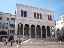 Loggia della Gran Guardia, Padua, Italy. The building of Loggia della Gran Guardia, Padua, Italy Stock Photo