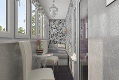 Loggia interior Royalty Free Stock Images