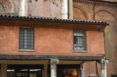 Loggia of the Merchants. Ferrara. Emilia-Romagna. Italy. Stock Images