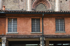 Loggia of the Merchants. Ferrara. Emilia-Romagna. Italy. Royalty Free Stock Photo
