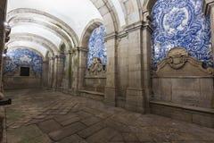 Loggia of Se Cathedral in Porto. Porto, Norte, Portugal Stock Photo