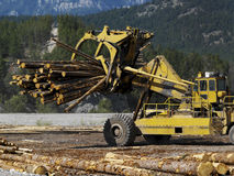 Logging - British Columbia - Canada Royalty Free Stock Photos