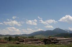 Logging in Elgin Oregon royalty free stock image
