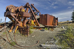 Logging equipment Stock Image