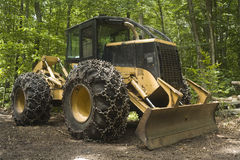 Logging machine - Skidder Royalty Free Stock Photos