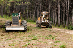 Logging. In Mobile County Alabama Stock Photography