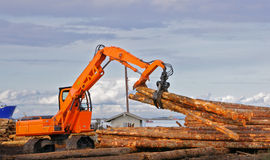 Logging Pickup Claw Royalty Free Stock Photos