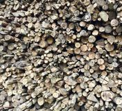 Pile of Wooden stock photo