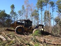 Logging Skidder royalty free stock images