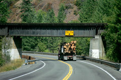 Logging truck Stock Images