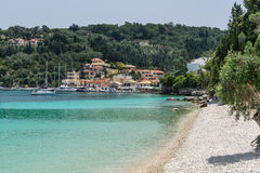 Loggos from Harami Beach Royalty Free Stock Image