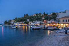 Lakka on Paxos Royalty Free Stock Photography