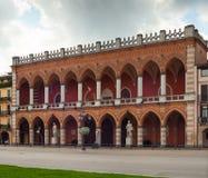 Logia Amulea, Padua Foto de archivo libre de regalías